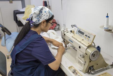 アパレル製品のお直しスタッフ大募集!「もの作りが好きな方」「服が好きな方」にピッタリのお仕事です!